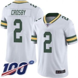 Green Bay Packers Mason Crosby 100 Season Jersey